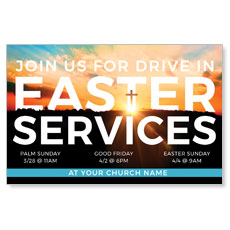 Drive In Easter Services
