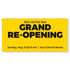 Yellow Grand Re-Opening